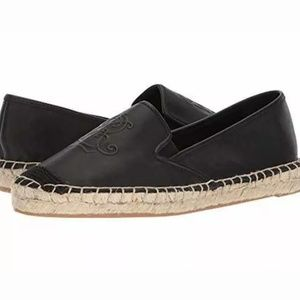 Ralph Lauren Destini Leather Espadrille Loafer 11